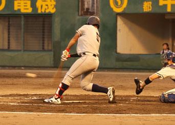 2安打2打点の活躍を見せた橋本