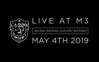 Steve Riley Announces His Version Of L.A. Guns To Play At M3 Rock Festival And The Lead Singer
