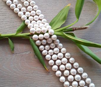 Handgeknüpfte Perlenkette