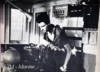 Jacques Chirac pilotin 1950 - Photo UIM