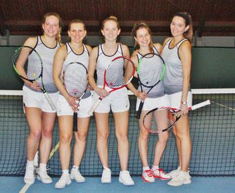 Bild 1 von links: Greta Windler, Sabrina Kukla, Pia Lena Frantzheld, Neele Grandt, Leonie Kraim