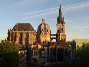 Aachener Dom, Foto Stadtführung Aachen Martina Fey