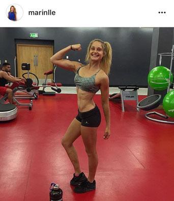 Marine Leleu, Personal trainer et Ambassadrice de MyProtein