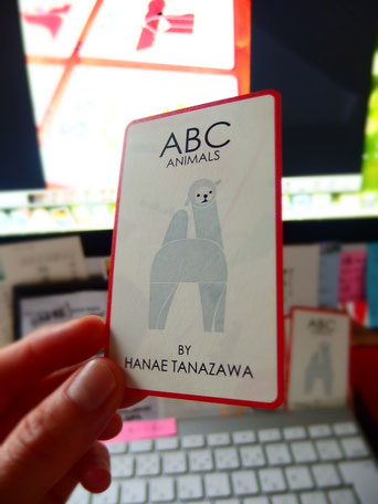 Business card for ABC Animals 2016
