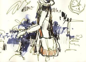 Orientierung f r hochschulstudium kunstschule d sseldorf for Modezeichnen kurs