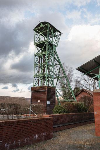 Grube Zeche Anna in Alsdorf, Aachener Revier, Deutschland, Industriekultur, Industrie, Zechen, Bergbau, Steinkohle