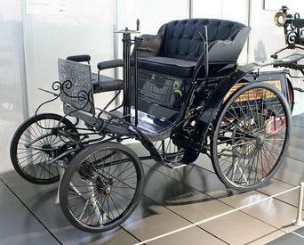 Der Benz Patent-Motorwagen Velo von 1894 Quelle: Wikipedia