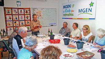 atelier d'oenologie du 12 juin 2014