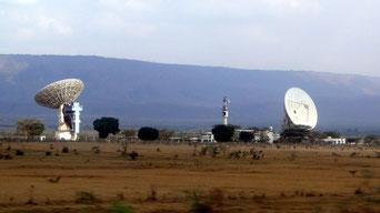 Stazione satellitare terrestre Monte Longonot