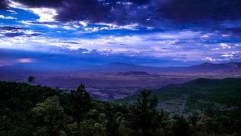 Vista dal Monte Ol Donyo Sabuk
