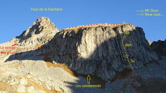 Tour de la Flachère, Monsieur Duss et le temps des gitans