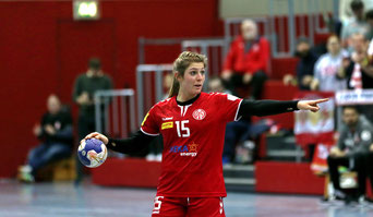 Lariss Platen ist die beste Handballspielerin in Deutschland und spielt bei Mainz 05
