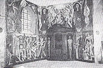 La fresque juste terminée, 1992