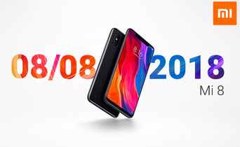 Date de mise en vente du Mi 8 de Xiaomi en France.