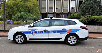 Police municipale de Vélizy-Villacoublay.