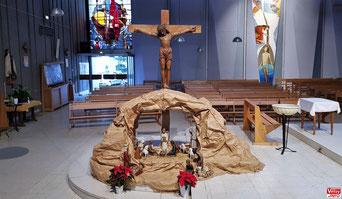 Crèche de l'église Saint Jean-Baptiste (2020) – Vélizy-Villacoublay.