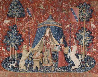 Tapisserie de la Dame à la licorne – Musée de Cluny