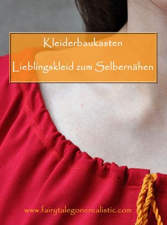 Kleiderbaukasten Lieblingskleid selbstgenäht Nähen DIY Mode Fashion DIYBlog Fairy Tale Gone Realistic