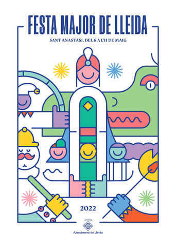 Fiestas en Lleida Festa Major de Sant Anastasi