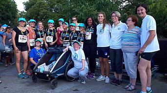 Frauenlauf engelhorn Mannheim, Spenden für die Frühchen