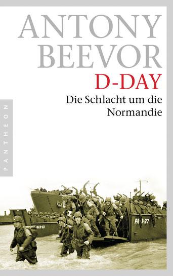 Antony Veevor: D-Day, die Schlacht um die Normandie, Buchcover
