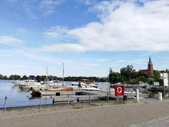 Röbel Hafen