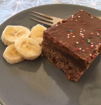 Schokoladen Bananenschnitten Aus Dem Thermomix Familienblog Blog