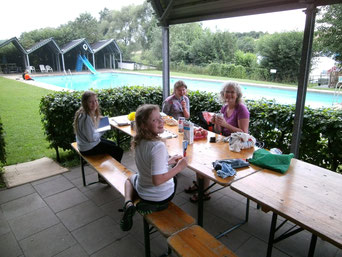Autenhausen, Campingplatz mit Schwimmbad
