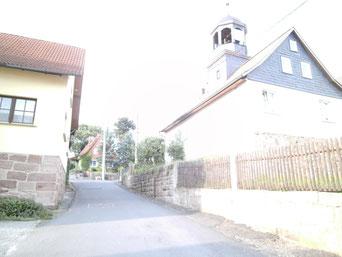Grimmelshausen, Steigung 1000%