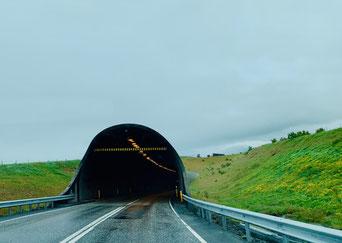 Hvalfjörður Tunnel sulla route 1. Foto di Alessia Paionni