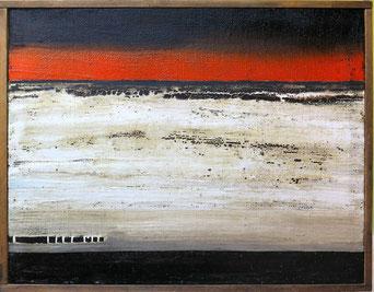 Danilo Corsetti, Studio di rosso, nero e bianco