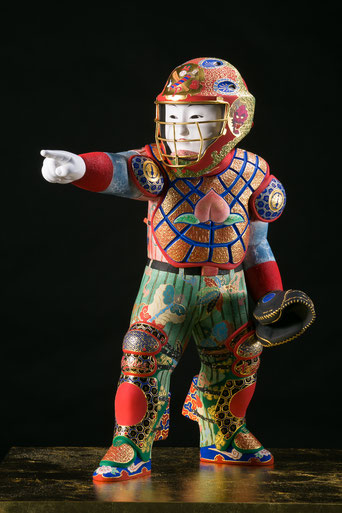 The Otogi League Allstars: Momotaro   中村弘峰 NAKAMURA Hiromine  第3回金沢・世界工芸トリエンナーレ 優秀賞受賞