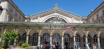 Anreise Paris - Bahnhof Gare de l'est