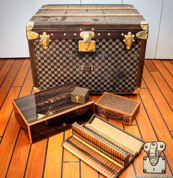 Malle Louis Vuitton authentique
