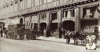 Boutique Louis Vuitton 1871 rue du scribe malle ancienne