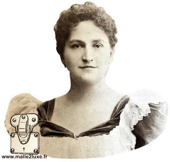 Portrait de Joséphine Patrelle en 1901 - Femme de Georges