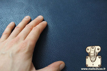 cuir ecrin sur mesure pour pipe Louis Vuitton