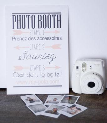 Polaroid en location