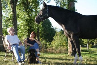 Isabelle est championne d'équitation