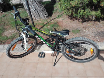 Childrenbike from Scott, black-green
