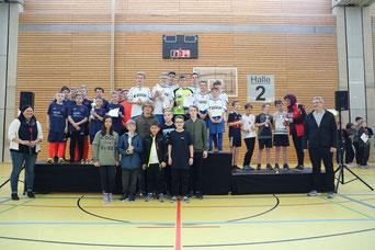Bei den Junioren holte die Mannschaft aus Beilngries den ersten Platz vor den Ministranten aus Ingolstadt St. Moritz. pde-Foto: Johannes Heim