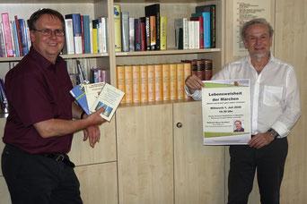 Klaus Schubert und Klaus Eifler (von links) Foto: Christian Schrödl