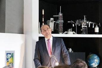 Foto: Nicolas Keckl, Albert Füracker während seiner Rede