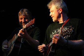 Franz Nagler und Robert Hasleder Foto:Klaus Eber