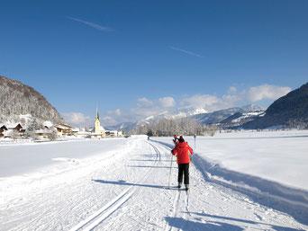 Langlaufen im Tiroler Kaiserwinkl
