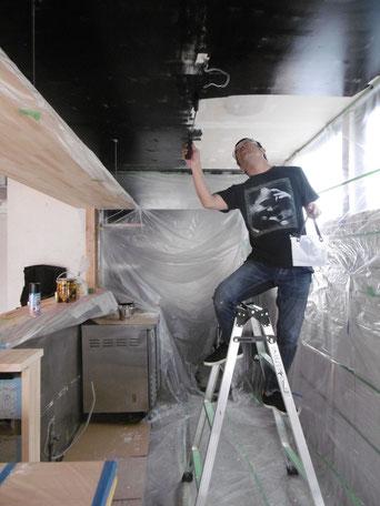 セルフ塗装工事