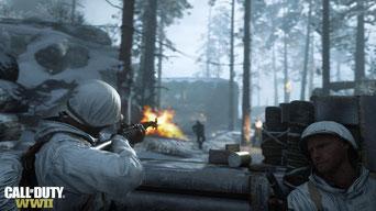 Das große Update für Call of Duty WW2 widmet sich der Anpassung der Waffen. Bild: Activision