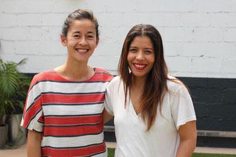 Amel et Mundhi, les deux pilotes de Trade School Toulouse