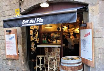 Bar del Pla in Born_Eating tapas in Barcelona