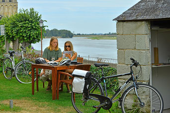 Domaine de Joreau, Saumur, Loire Valley - certified cycling holiday partner